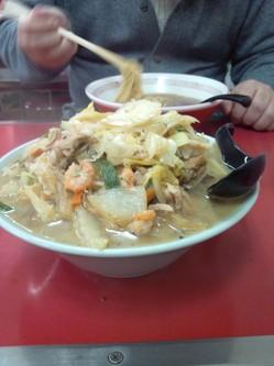 ひるね チャンポン麺